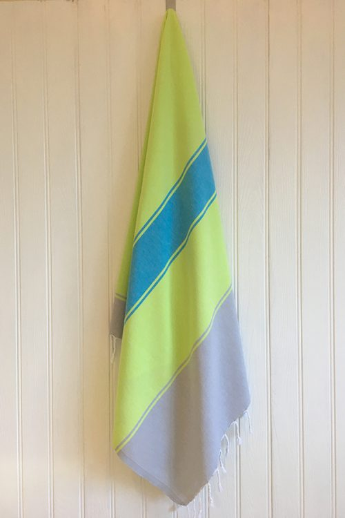 Alanya Hammam Towel yellowblue