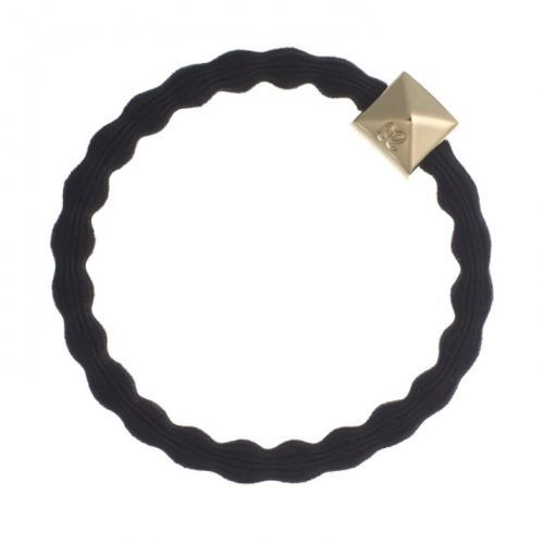 Black Gold Stud Bangle Band