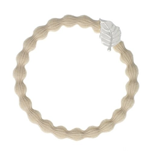 Sand Silver Leaf Bangle Band