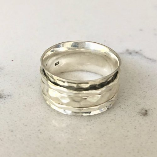 Silver Spinning Ring