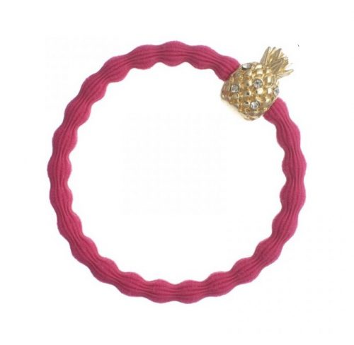 Fuchsia Gold Pineapple Bangle Band