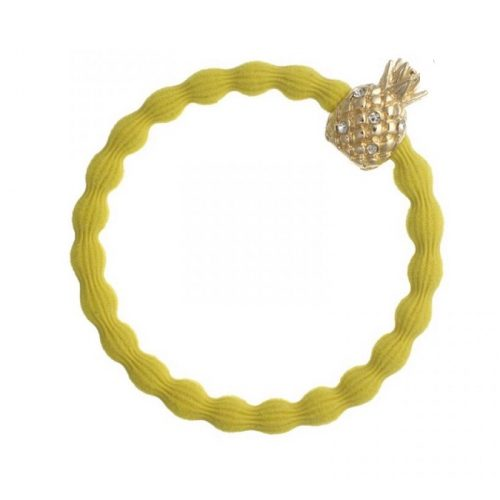 Yellow Gold Pineapple Bangle Band