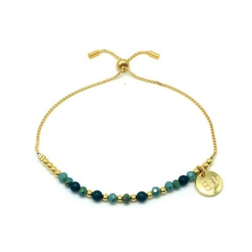 Boho Betty Apinti Teal Friendship Bracelet