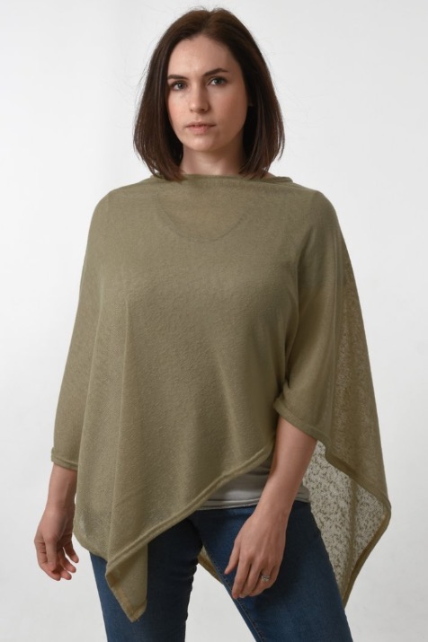Summer Poncho Taupe