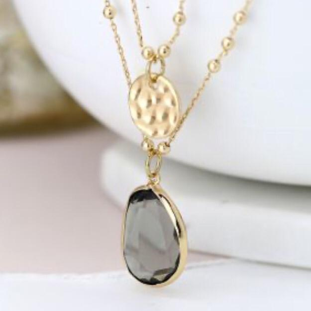 Eloise Layered Necklace Gold